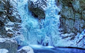 Frozen Waterfalls by Frozen Waterfall Wallpaper Android Apps On Google Play