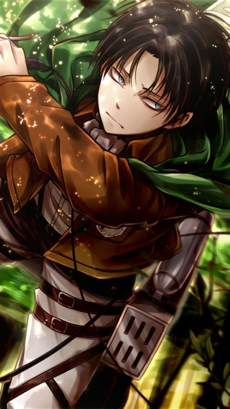 Attack On Titan Iphone the gallery for gt attack on titan levi iphone wallpaper