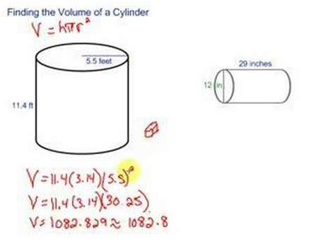 Its All About The Volume by Volume Of A Cylinder