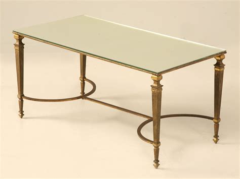 Bronze Coffee Table Vintage Maison Jansen Gilt Bronze Coffee Table For Sale Plank