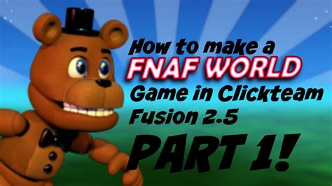 construct 2 title screen tutorial clickteam fusion 2 5 fnaf world title screen tutorial