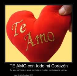 te amo mi te amo mi amor quotes quotesgram