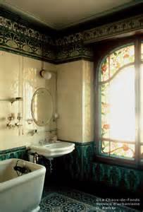nouveau bathroom tiles salle de bains 1905 nouveau bathroom i think