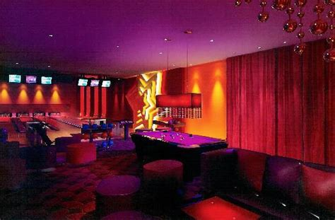 in the vip room the vip room provides 4 bowling lanes a bar sky sports and luxury sea picture of