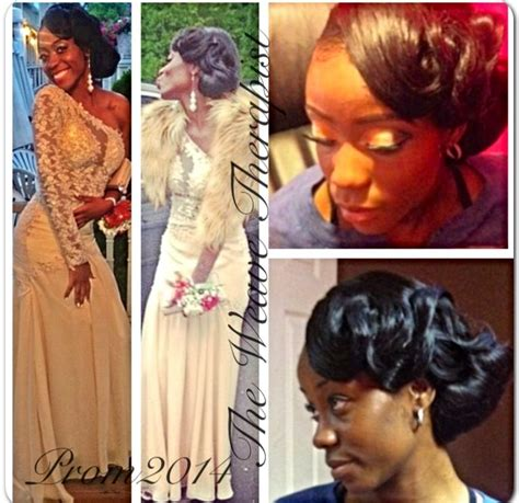 Pinned Up Sew In Styles For Prom | prom styles sew in pin up styles www theweavetherapist com