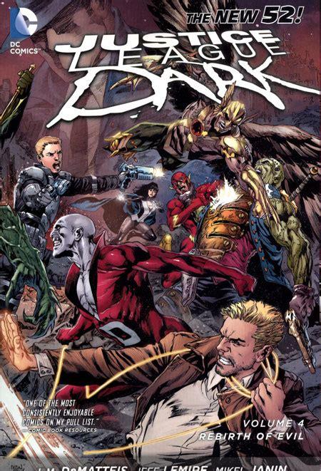 justice league tp vol justice league dark tp vol 04 the rebirth of evil n52 discount comic book service
