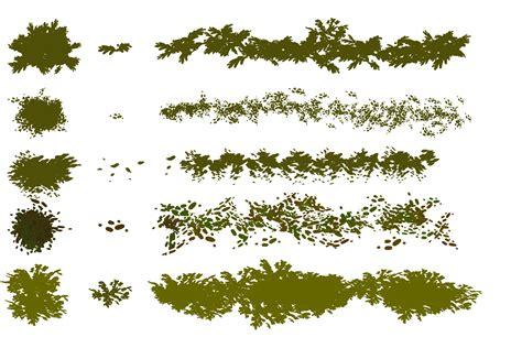 tree pattern brush tree leaves brushes fbrushes