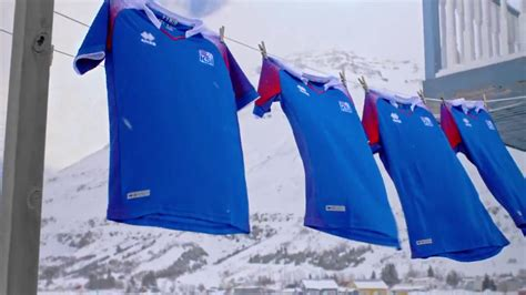 iceland world cup iceland 2018 world cup home and away kits released footy