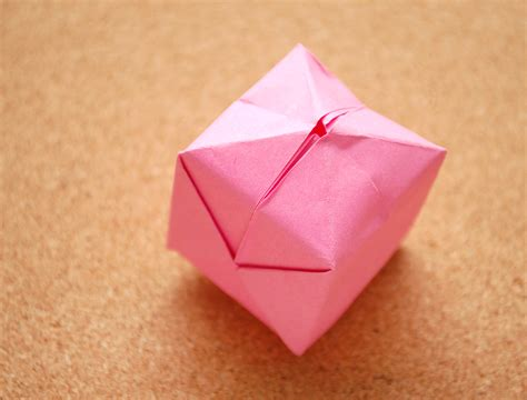 How To Fold An Origami Cube - origami box wikihow rachael edwards