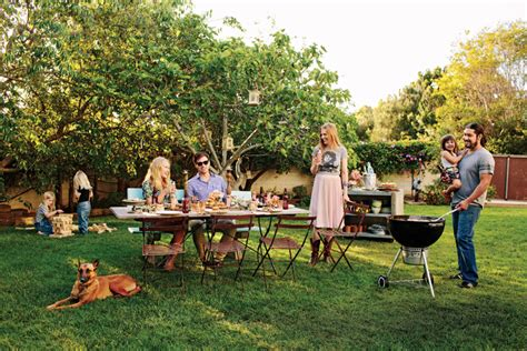 bbq backyard triyae com backyard barbecue various design
