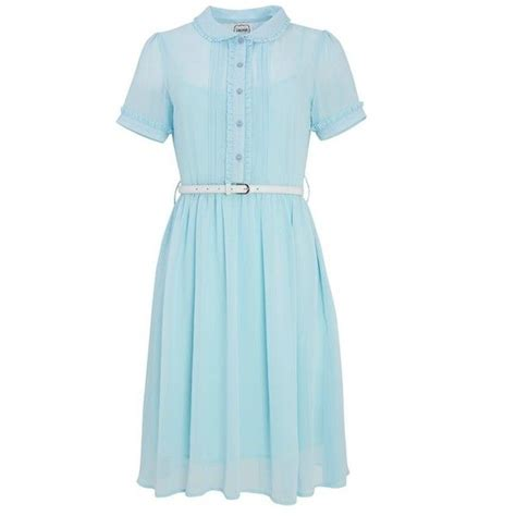light blue collared dress best 25 frill dress ideas on frock and frill