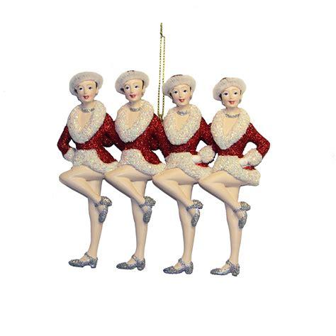 Rockettes Ornaments - kurt adler rockette showgirls ornament 6 quot bloomingdale s