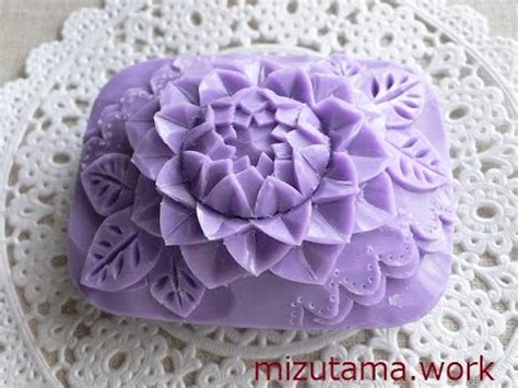 Ukiran Sabun soap carving tutorial how to carve a dahlia