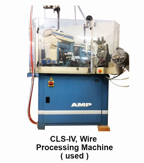 wire cls buy used wire processing stripping machines ta wire and harness