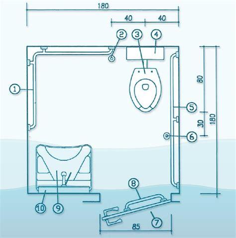 corrimano disabili bagni per disabili a norma vasche specchi lavabi