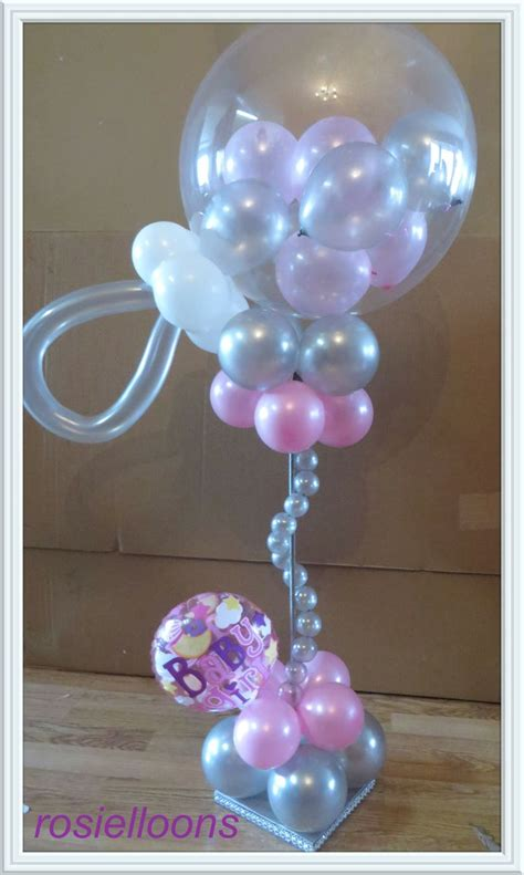437 best balloon baby shower parties decorations images
