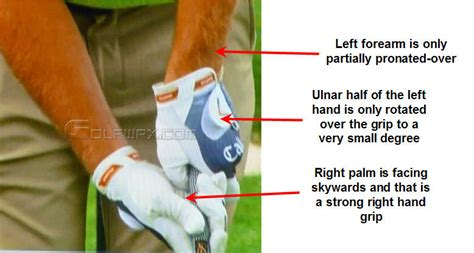 left handed golf swing mechanics tommy gainey swing mechanics newton golf institute