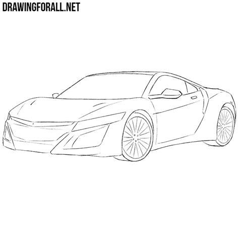 how to draw a jaguar car drawingforall net gold cars gtr sh3 me