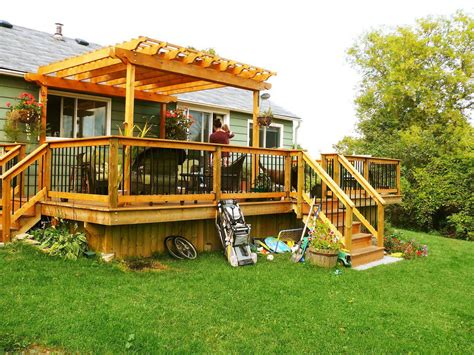 deck backyard backyard decks ideas for small yards of with deck pictures