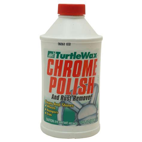 Chrome Rust Remover Turtle Wax Original turtle wax chrome 12 oz