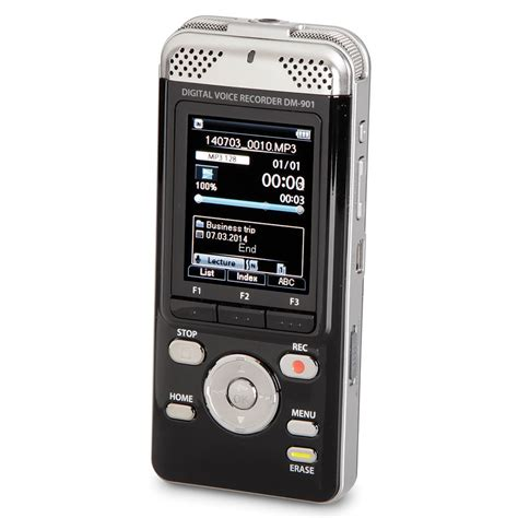 best digital for recording the best digital voice recorder hammacher schlemmer