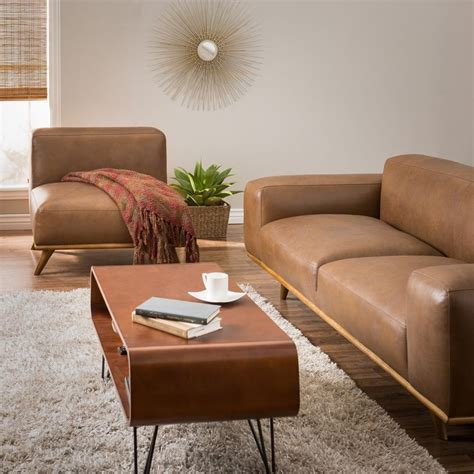 Best Deals On Leather Sofas Dante Italian Oxford Leather Sofa Overstock Shopping The Best Deals On Sofas