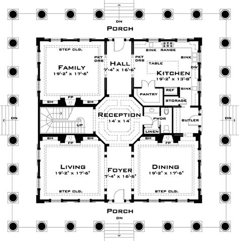oak alley floor plan classic greek revival with video tour 44055td