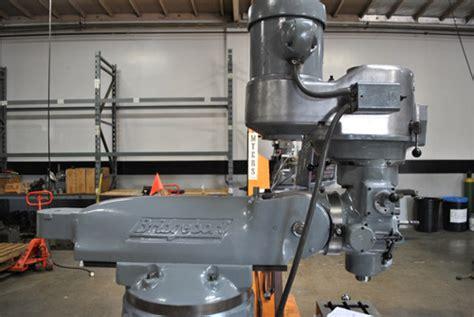 Rebuild Amp Repair Of A Bridgeport Milling Machine For The