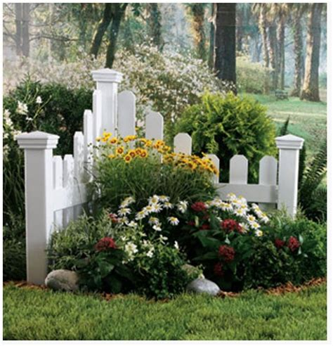 Backyard Corner by Add A Small Corner Fence With Plants And Flowers To