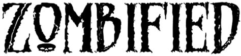 dafont zombified letterology spooky free fonts be very aware