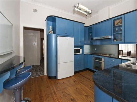 Blue Kitchens by