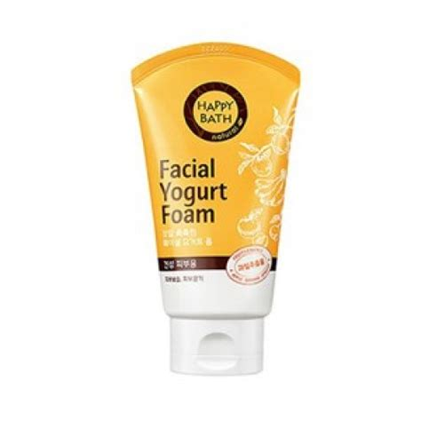 bathroom facials beauty box korea happy bath facial yogurt foam moisture fruits 120g best price