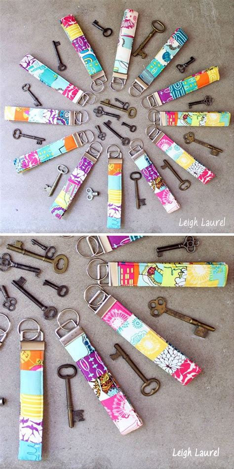 crafts and diy cheap and easy diy crafts to make and sell scrappy key fobs by diy ready at http diyready