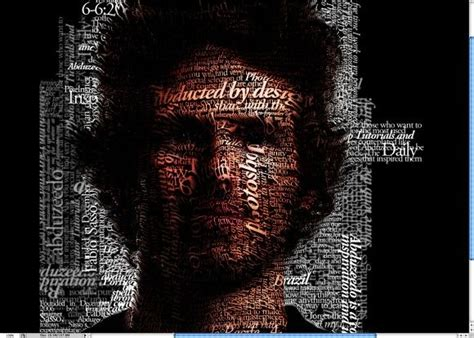 typography map tutorial 17 best images about typography portraits on pinterest
