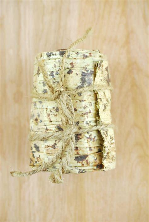 paper ribbon birch print 4in x 6ft