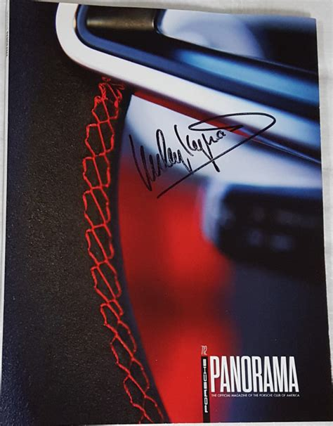 panorama porsche 2016 porsche panorama july 2016 signed by haywood