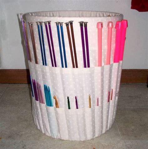 fabric mart fabricistas diy tutorial crochet hook case knitting bucket organizer miscellaneous topics