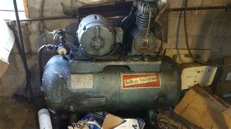 kellogg american air compressor devilbiss paint shop paint booth paint drying oven rupp air