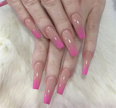 art design unique nails view pink ombre nails tips summer nail designs