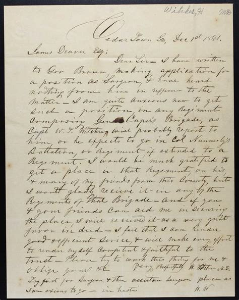 Uga Early Essay by William Troup Witcher Of And Gilley Witcher