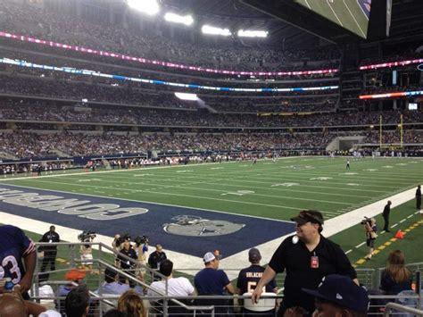 att stadium section  home  dallas cowboys