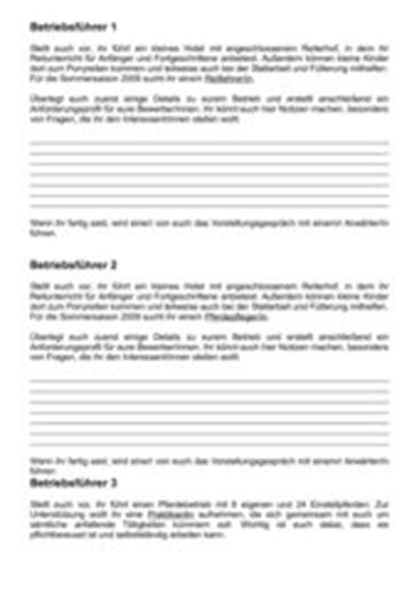 Bewerbungsgesprach Rollenspiel Unterricht 4teachers Rollenspiel Mit Beobachtungsbogen