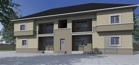 3 bedroom flat in nigeria contemporary nigerian residential architecture 4 units of