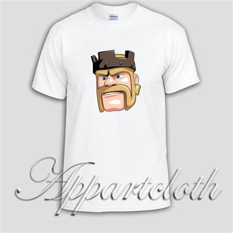 T Shirt Clash Of Clan Black barbarians clash of clans unisex tshirt