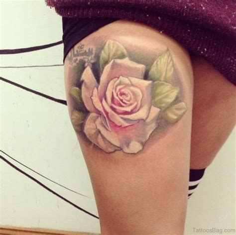 roses on thigh tattoo 70 impressive tattoos for thigh