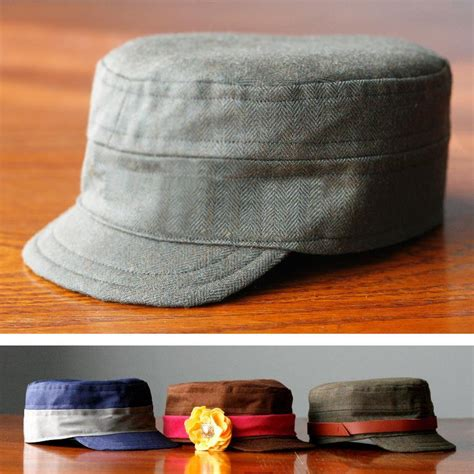 pattern for army hat child s cadet cap size 5 by marij4 craftsy