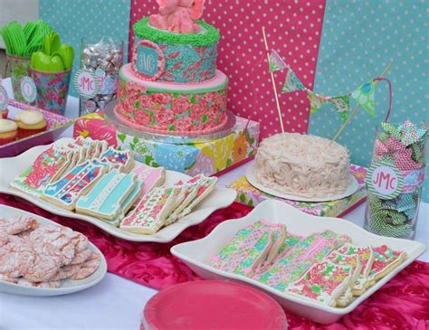 Lilly Pulitzer Decorations by Lilly Pulitzer Birthday Quot Lilly Pulitzer 1st Birthday