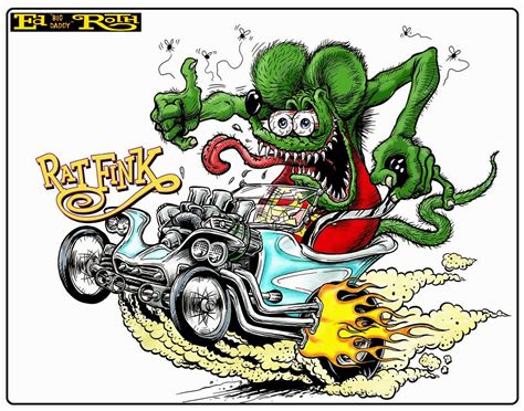 rat fink tattoo designs rods and jalopies october 2013