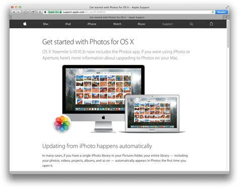 r for mac os x faq see help section 9 can t find and open the photos application in mac os x 10