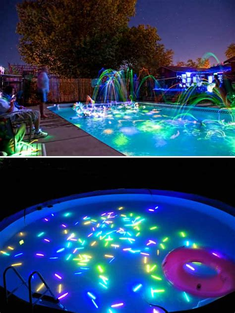 blacklight dinner top 21 easy and ideas with glowing sticks